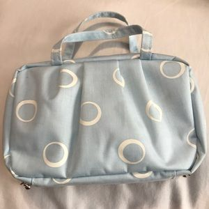 Other - Travel makeup bag & brush set (5 pc)